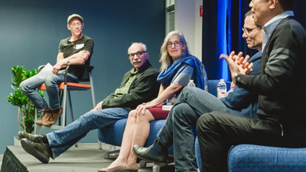 Speaker panel at Night of Design 2019