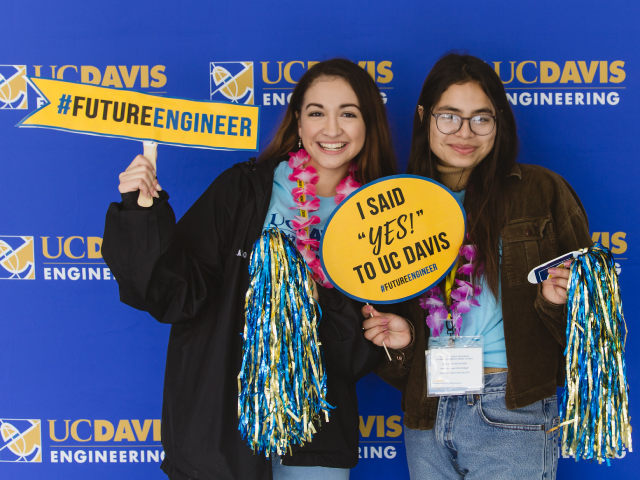 New students at Decision Day 2019